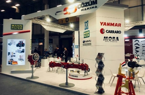 Cozum Makina at Automechanika 2019 in Turkey