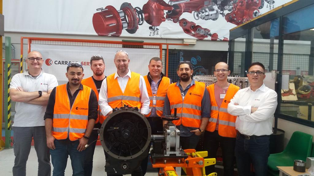 Carraro Academy technical training on transmission systems for off-highway vehicles (May 28-31, 2019)