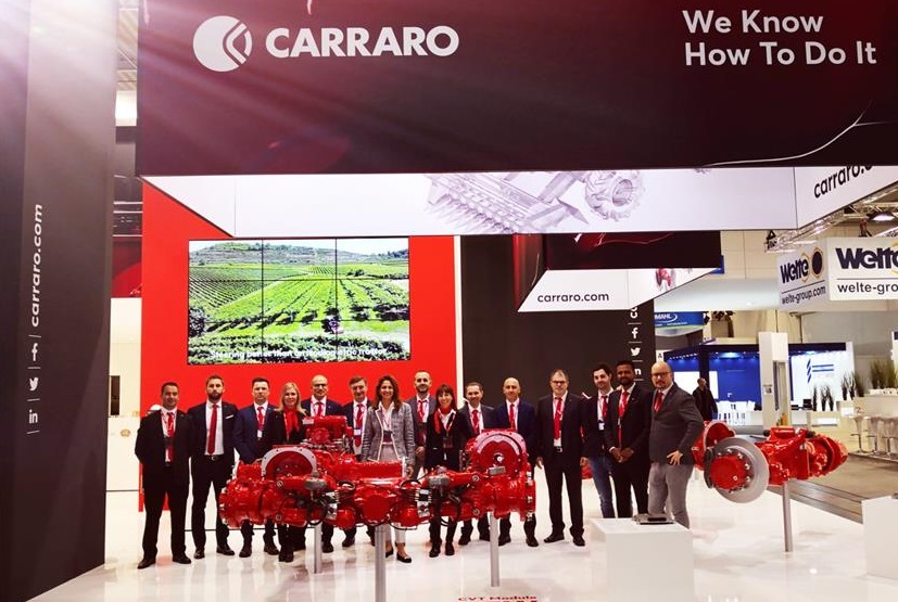 At Agritechnica. Carraro is once again confirming its outstanding skills