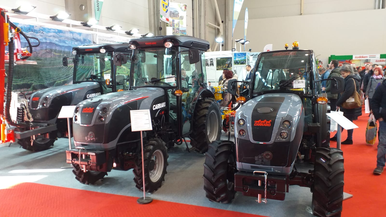Navik Alfa at AGROmashExpo (Budapest, January 22-25)
