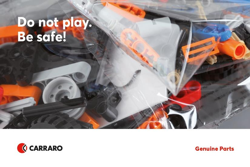 Carraro Spare Parts Posctcards!