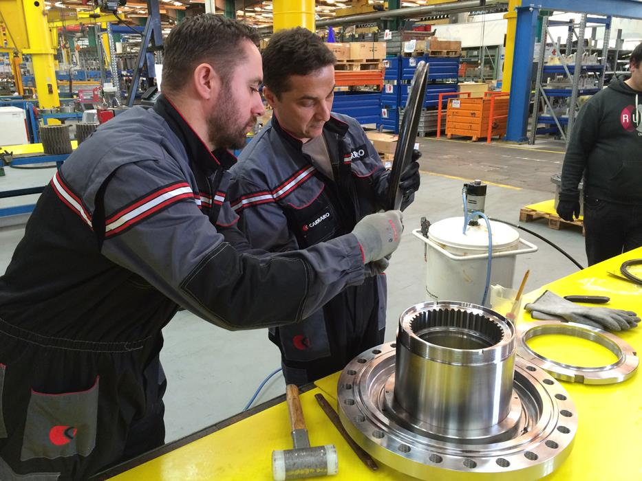 Carraro Technical Training 2015 - February and March sessions