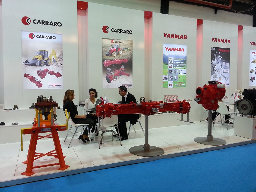 Cozum Makina at Automechanika 2015 in Turkey