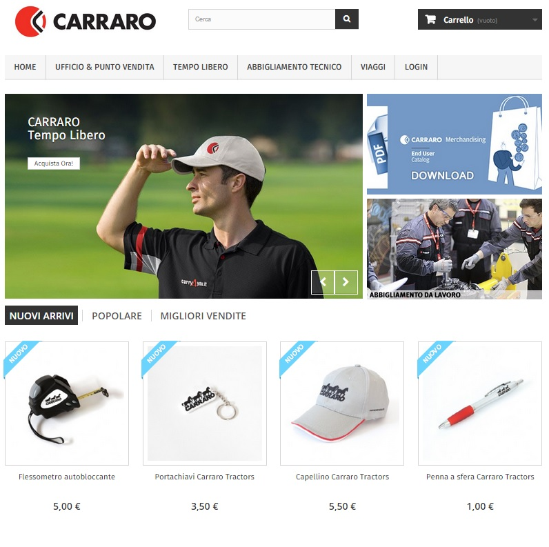 Shop.carraro.com