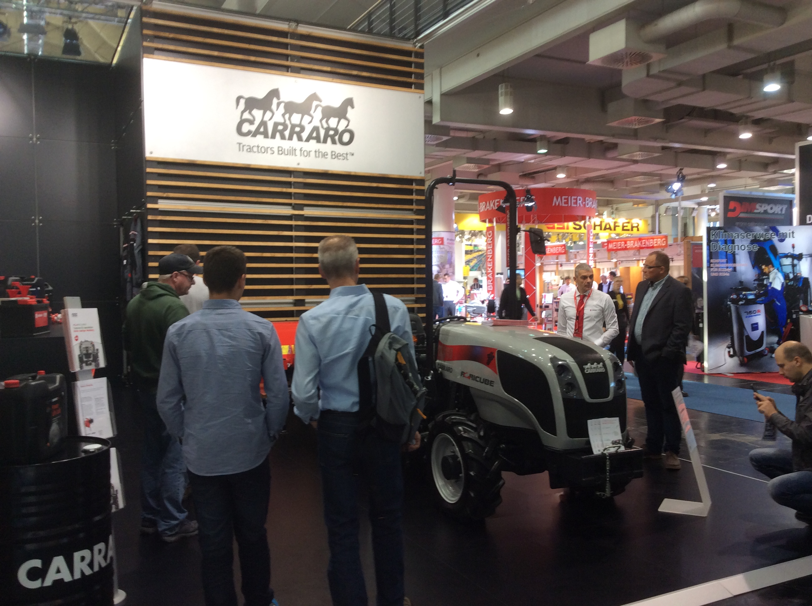 At Carraro Spare Parts & Carraro Tractors booth (Hall 2, Booth C10) you win!
