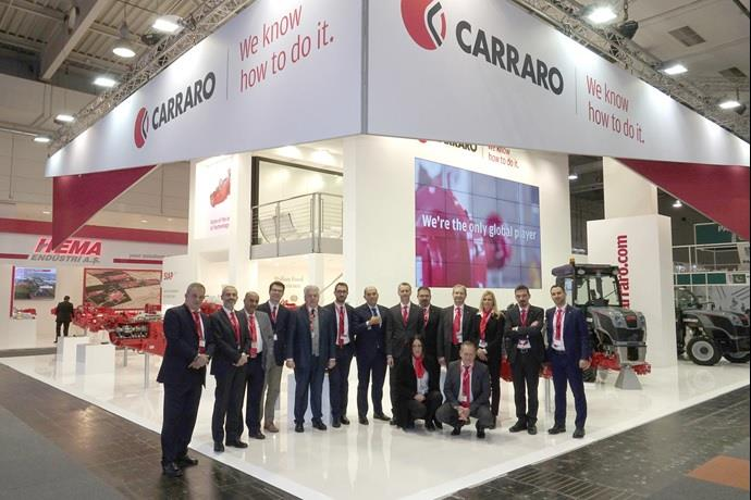 Carraro at Agritechnica: We know how to do it