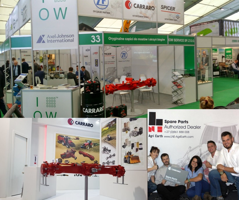 Bauma Conexpo Africa, Agrotech Poland and Konya Turkey