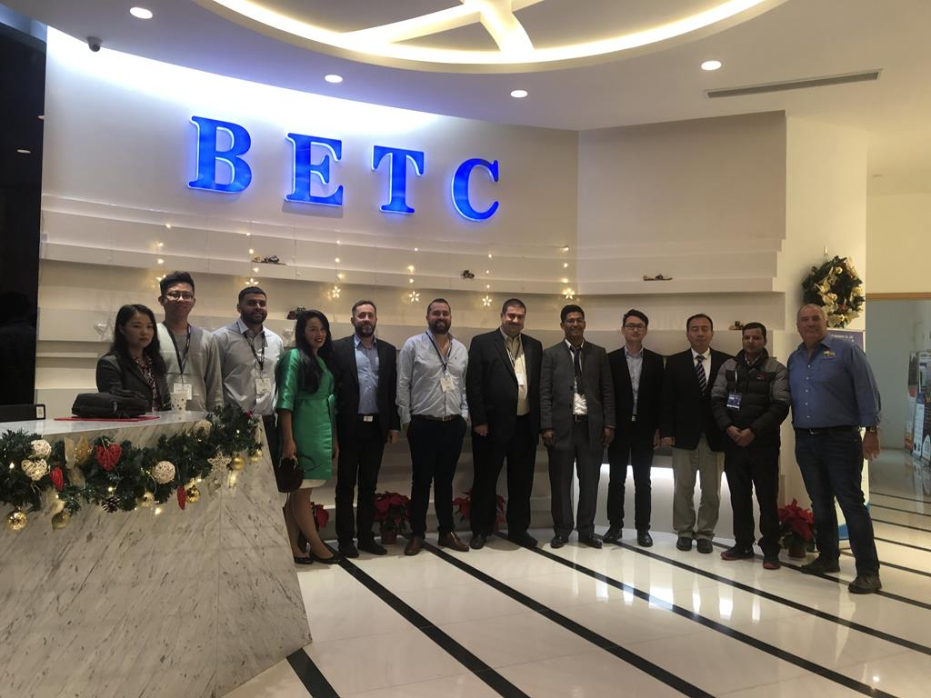BETC event during Bauma China
